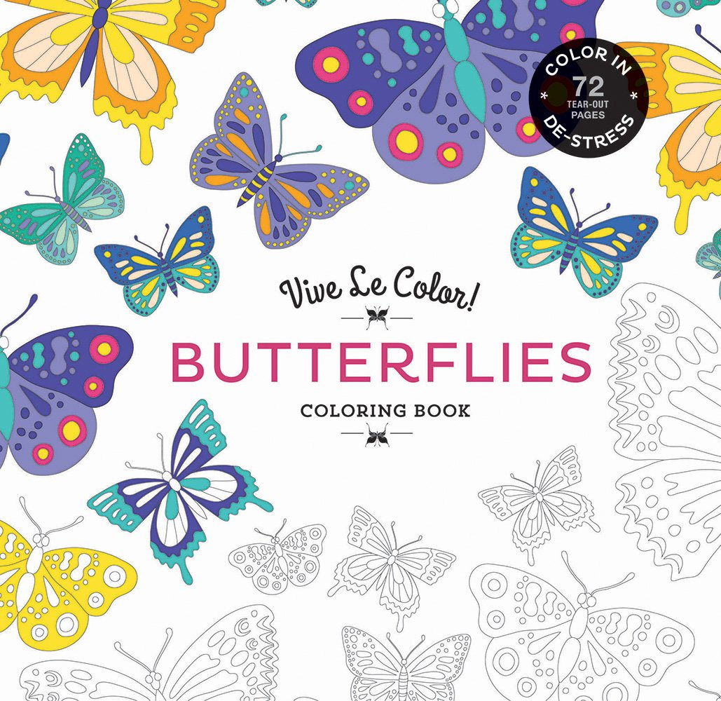 Vive Le Color! Butterflies