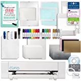 Silhouette Curio Crafting Machine with Lots of Accessories! Including Deep Cut Blade, Large Base, Etching, Stippling, Sketching, Emboss, and More Bundle