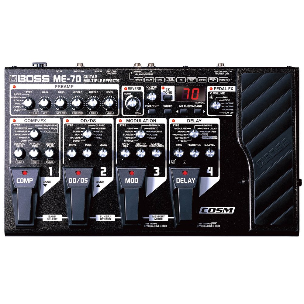 multi effects guitar pedal reviews