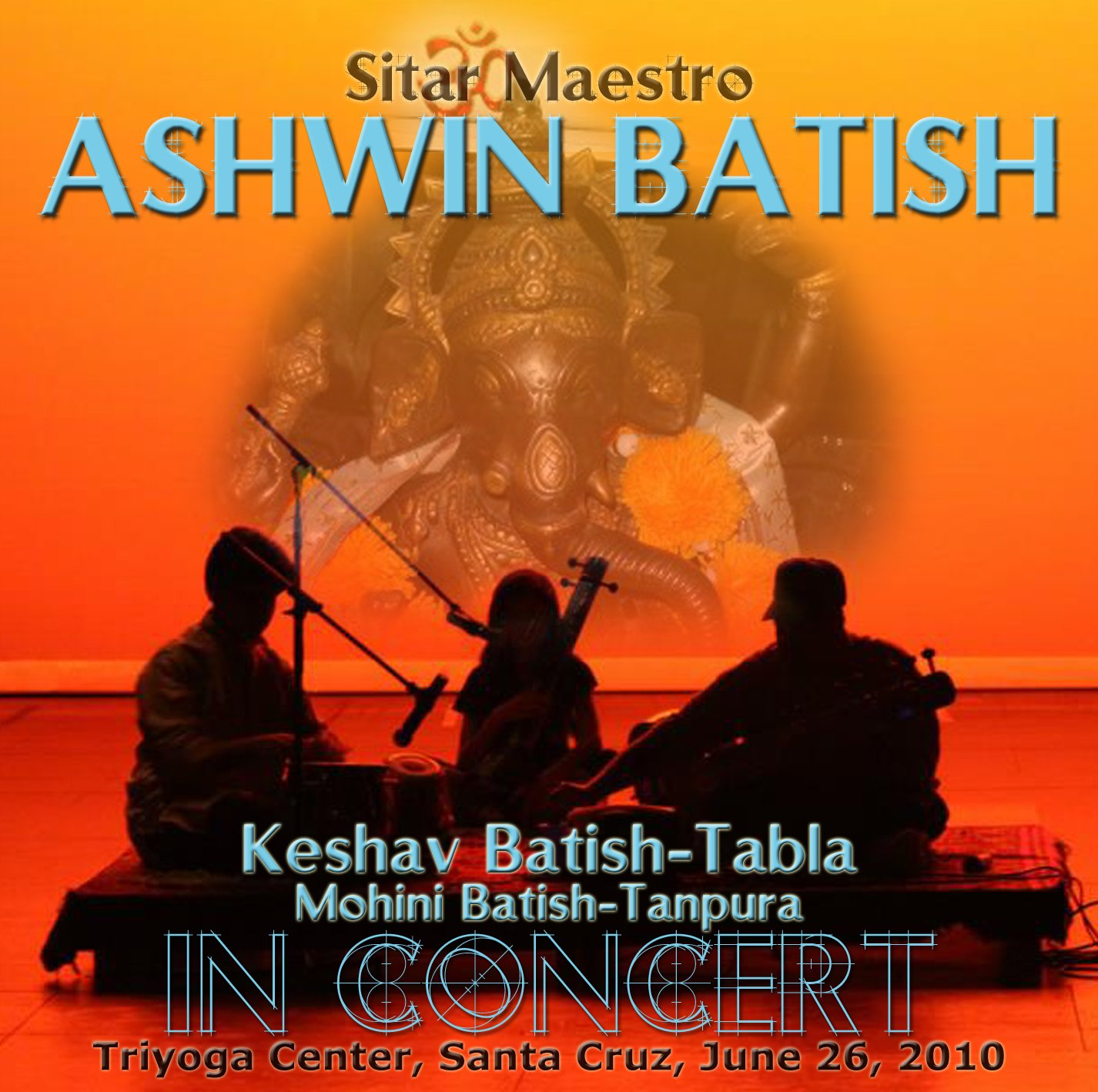 Ashwin Batish and tabla wizard Keshav Batish in concert North India classical music. �2012 Ashwin Batish, Batish Records (831) 423-1699by Ashwin Batish. All rights reserved. Copyrighted image