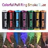 Colorful Pull Ring Effect Smoke Tube for Outdoor Background Stage Photography(Color:Purple) (Color: purple)