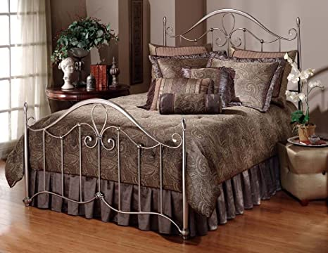 King Doheny Bed by Hillsdale - Antique Pewter (1383-660R)
