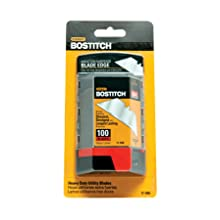 BOSTITCH 11-506 Straight Blades, 100 Pieces