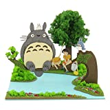 Mei and Satsuki and Totoro Studio Ghibli Mini Mp07-05 (Paper Craft)
