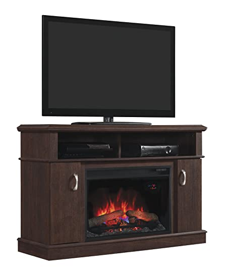 ClassicFlame Dwell Infrared Electric Fireplace Entertainment Center in Midnight Cherry - 26MM5516-PC72