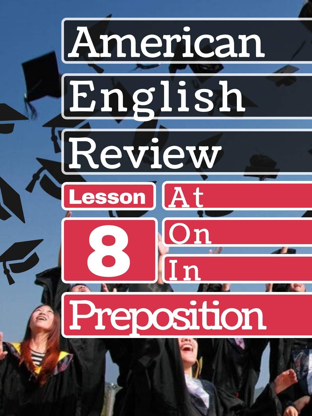 Prepositions Lesson 8 on Amazon Prime Video UK