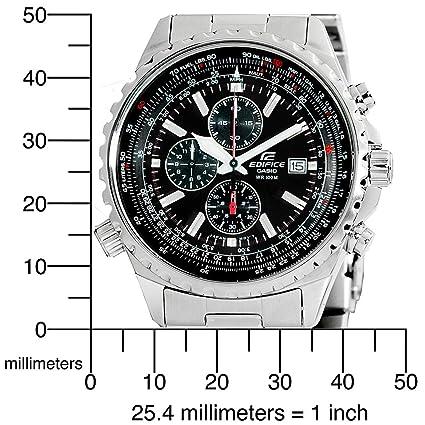 "Casio Men's EF527D-1AV ""Edifice"" Stainless Steel Multi-Function Watch 卡西欧 男士 三眼计时 石英腕表-奢品汇 | 海淘手表 | 腕表资讯"
