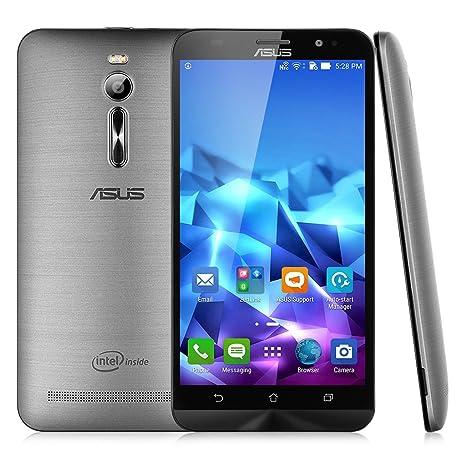 Asus ZenFone 2 ZE551ML Smartphone débloqué 4G (Ecran: 5,5 Pouces - 32 Go - 4 Go RAM - Double SIM - Android 5.0 Lollipop) Argent