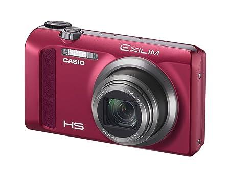 CASIO EXILIM Digital Camera EX-ZR500RD / 16.1 Megapixel / 12.5 x Optical Zoom / 7.6 cm (3 Inch) Display EX-ZR500 ROUGE