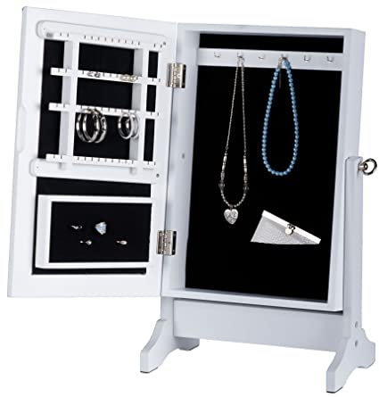 Generic QY-UK4-16FEB-20-1171 *1**2987** Mirror for eweller Cabinet with Wood Je Wood Jewellery et with your accessories ssories organising all your accessories