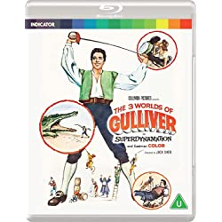 The 3 Worlds of Gulliver [Blu-ray]