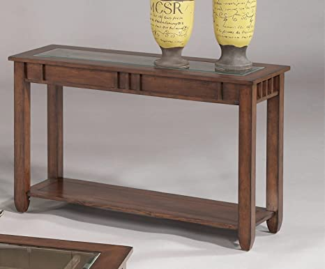 Progressive Furniture Oval Sofa Table -