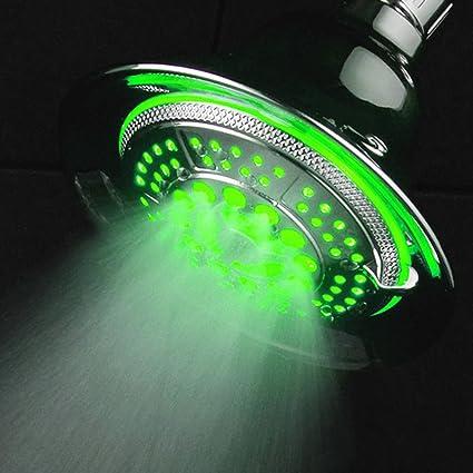 dreamspa led light up shower heads