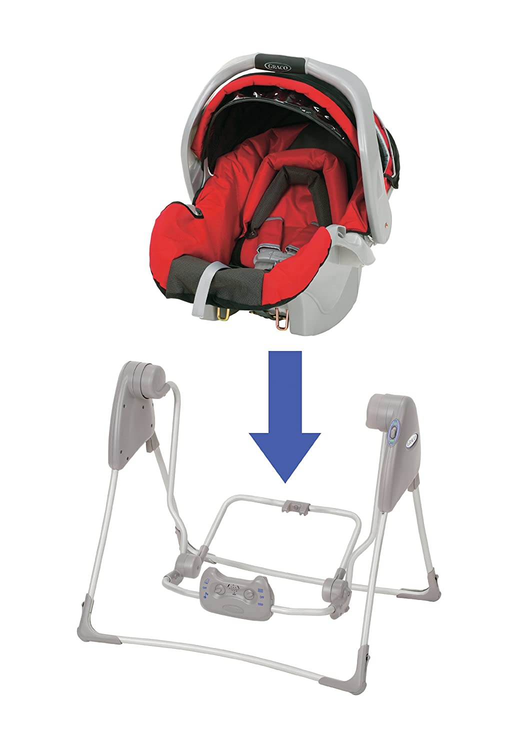 Graco Baby SnugGlider Infant Car Seat Swing Frame