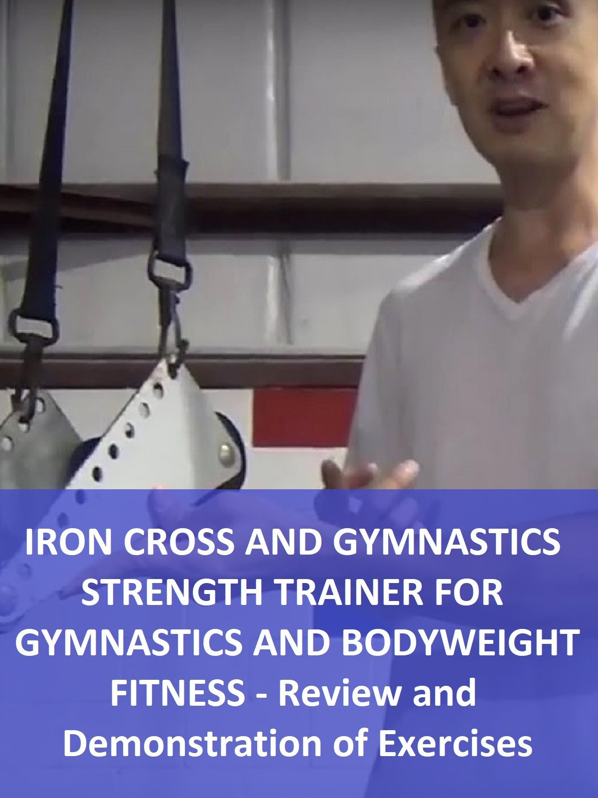 Iron Cross and Gymnastics Strength Trainer for Gymnastics and Bodyweight Fitness