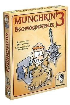 """Pegasus Spiele - 17120G - Jeu de société Munchkin 3: Beschwörungsfehler"""""""