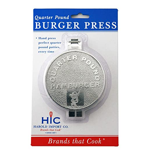 Dexam Single Hamburger Burger Press
