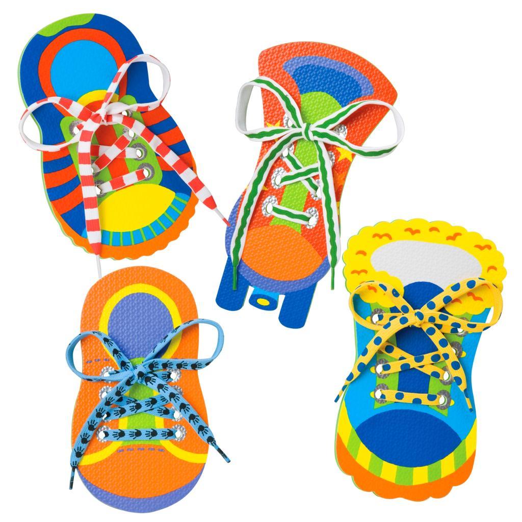 alex toys 1 2 tie my shoe toys