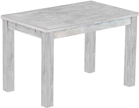 Rio classico tavolo da pranzo in diverse misure e colori, Legno, Farbton Beton, L/B/H: 120 x 73 x 77 cm