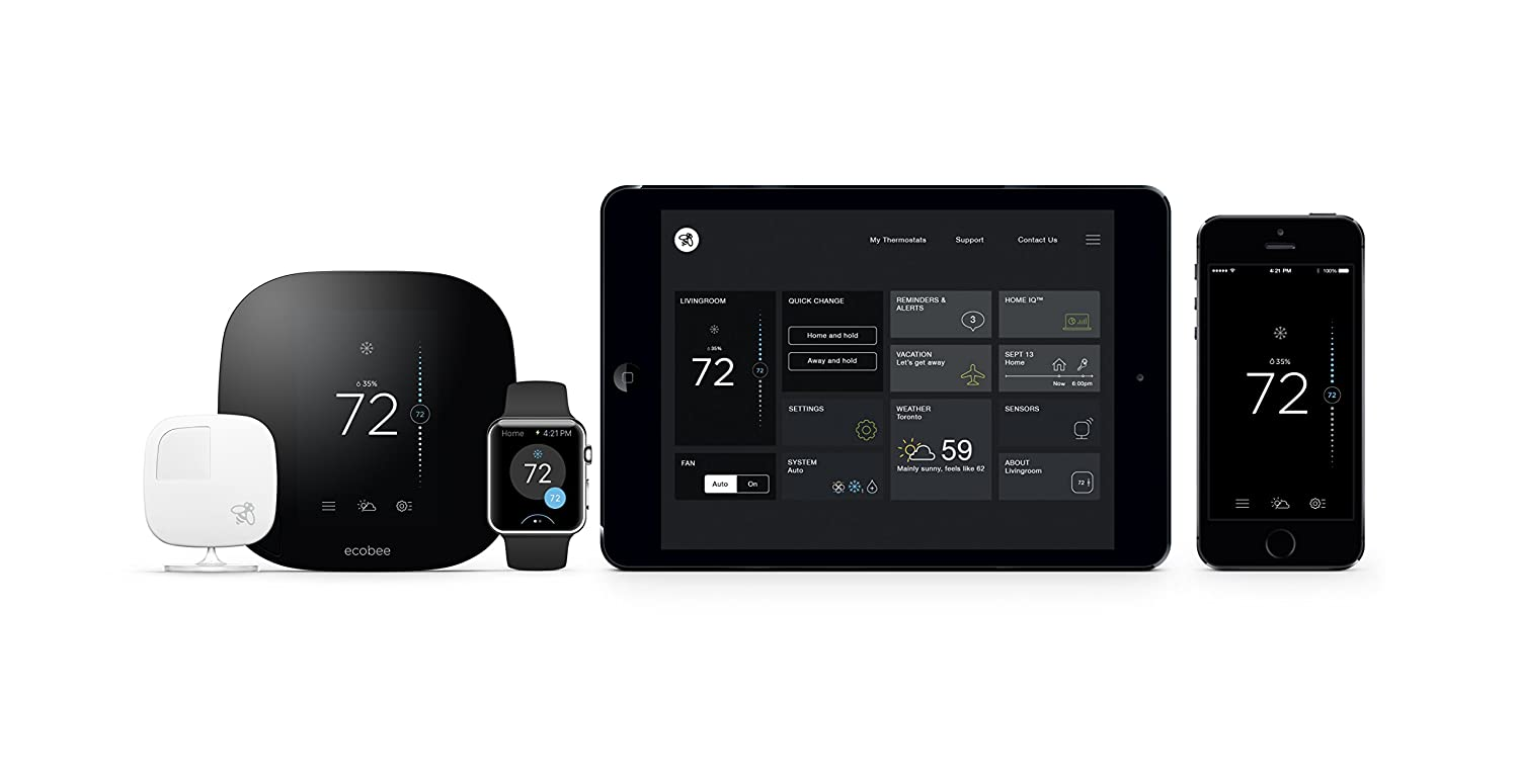 Top 7 Best Wifi Thermostat Reviews - Reviews of Top Programmable ...  ecobee3 ... Pro1 Thermostat Wiring Diagram ...