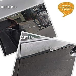 Carfidant Black Car Scratch Remover - Ultimate Scratch and