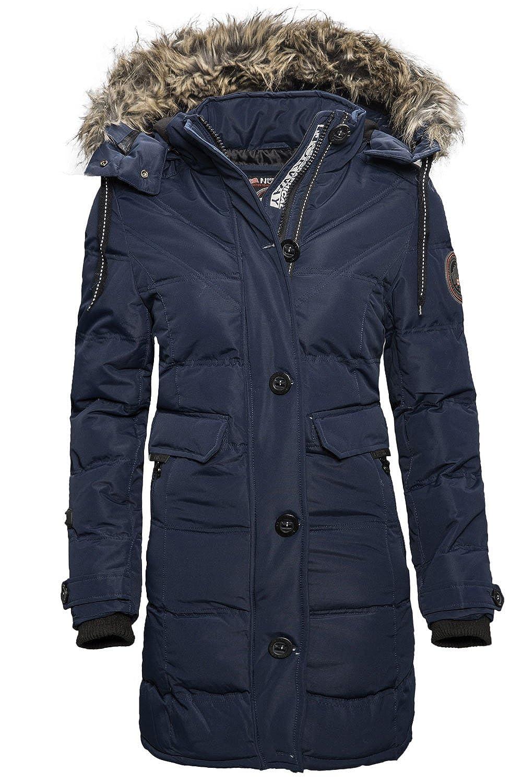 Geographical Norway Colasina Damen Winter Jacke Parka Mantel Outdoor Funktions günstig