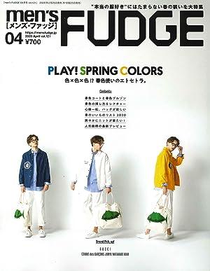 men's FUDGE - メンズ ファッジ - 2020年 4月号 Vol.121