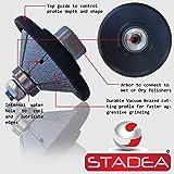 STADEA Diamond Profile Wheel / Profile Grinding Wheel 45 degree / Bevel 20 MM 3/4