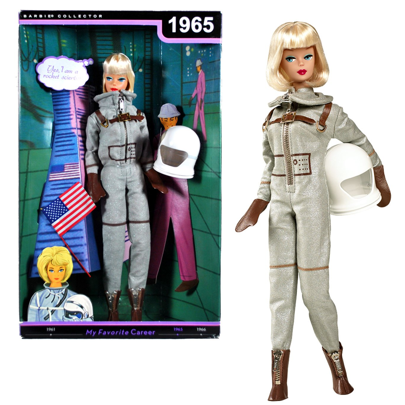 astronaut barbie 1965 - photo #6