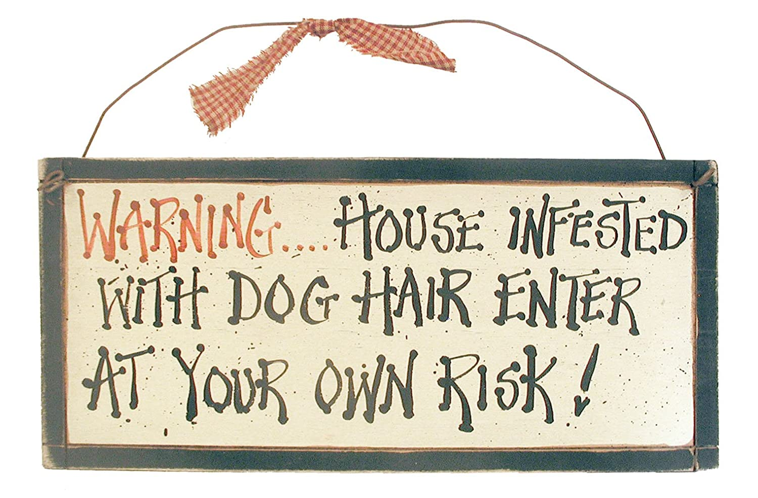 dog fur sign