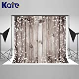Kate 7×5ft Wood Christmas Photography Backdrop Wooden Xmas Background Cotton Seamless Photo Studio Props for Winter Christmas Party Photography (Color: 6, Tamaño: 7×5ft)