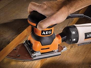 AEG outils électriques disques pour ponceuse orbitale 115 x 140 mm k60,...