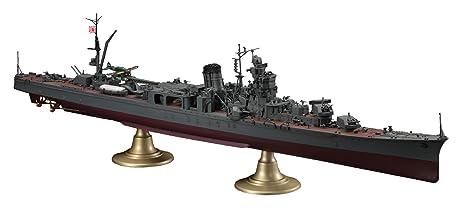 Hasegawa Echelle 1: 350cm IJN Cruiser clair Yahagi Opération ten-ichi-go 4940,3cm modèle Kit