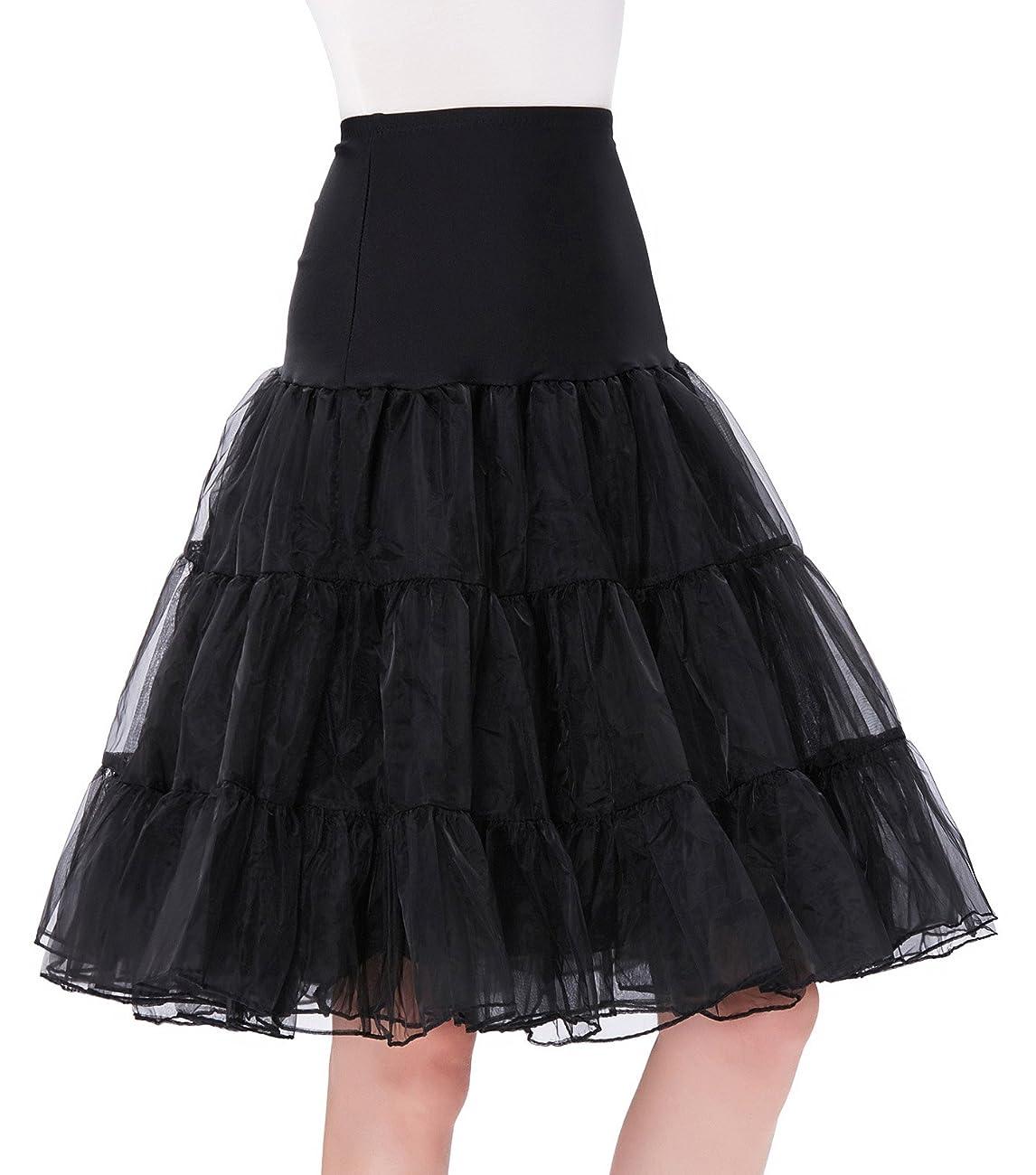 GRACE KARIN®Women 50s Petticoat Skirts Tutu Crinoline Underskirt CL8922 1