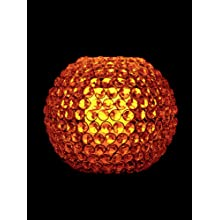 "Fortune Products CL-P35 LED Wax Pillar Candle, 3"" Diameter x 5"" Height"
