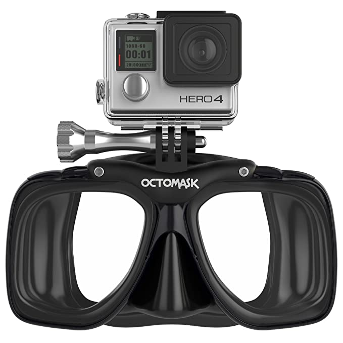 GoPro Hero4 and Hero3+ Dive Mask for Scuba Diving and Snorkeling