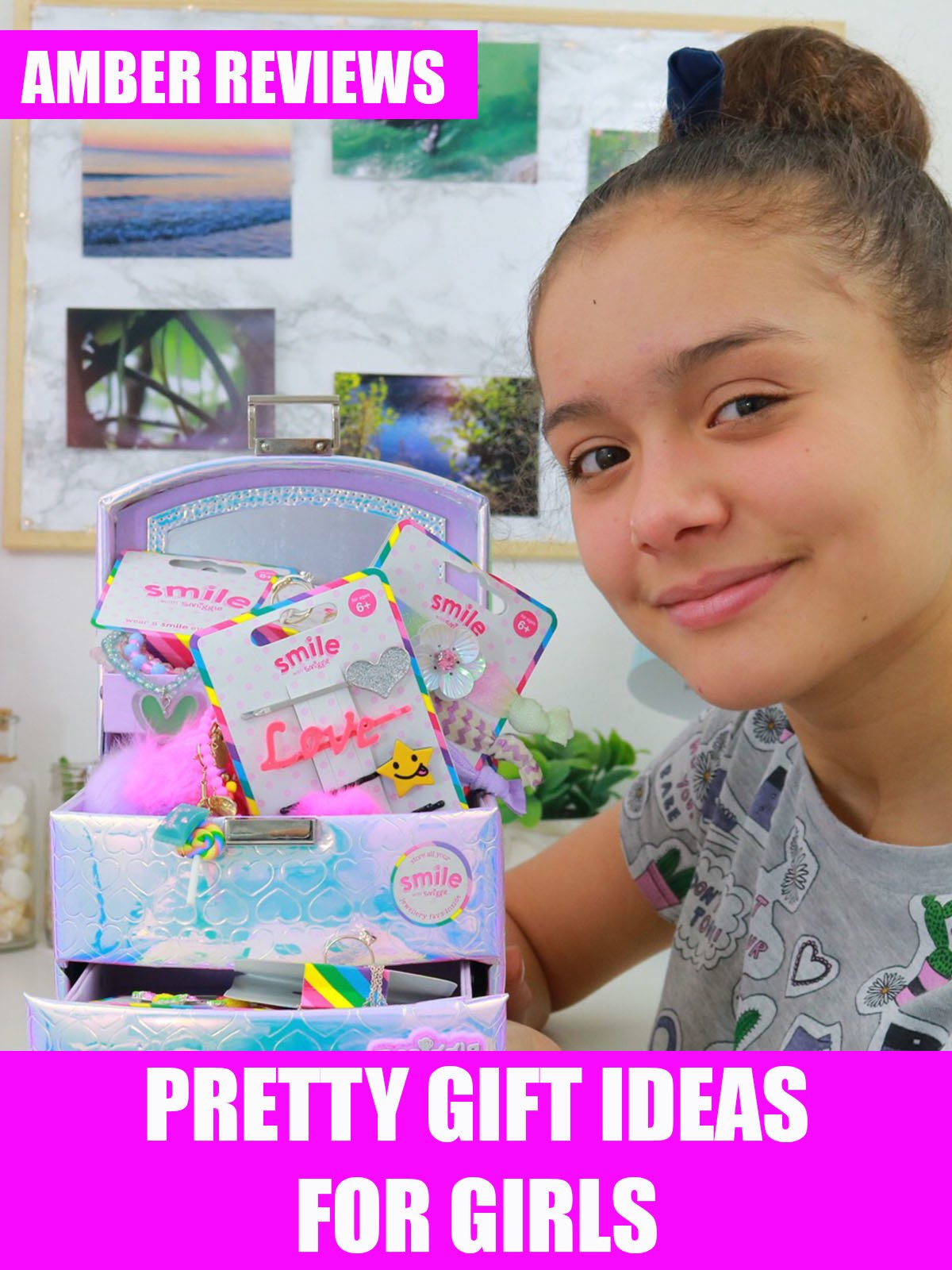 Amber Reviews Pretty Gift Ideas for Girls