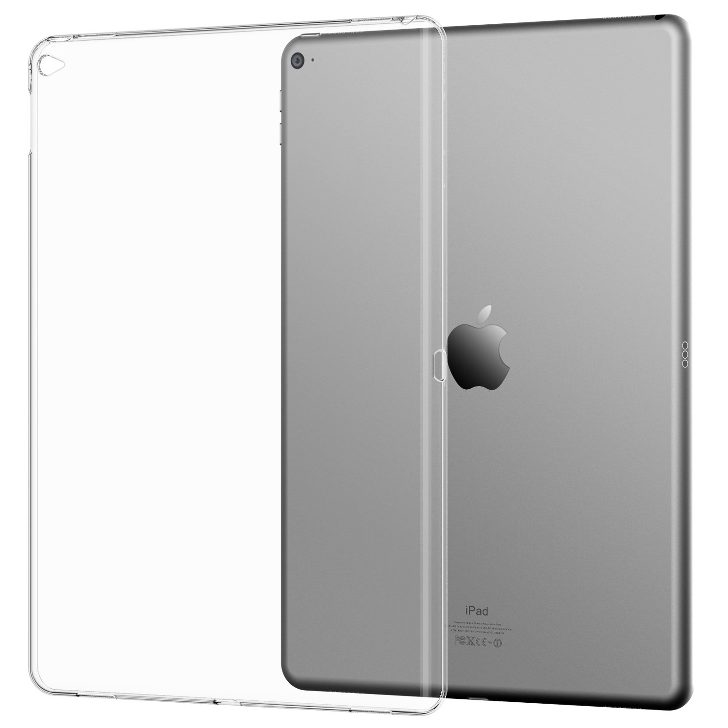 iPad Pro Case, JETech® Soft Clear Case Cover for Apple New iPad Pro 12.9""