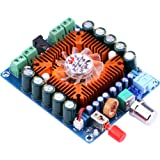 Amplifier Board, Yeeco Audio Power Amplifier Module 4 Channel Digital Amplifier Board Audio Amplifier Board DC 12-16V 50W Output HiFi Stereo Audio Amp Amplify, DIY Sound System Component (Tamaño: 50Wx4)