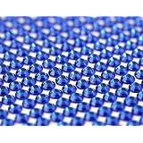 CraftbuddyUS 1500 X 5mm Royal Blue Bulk Self Adh Rhinestones,stick on Gems,craft Vajazzale Wedding (Color: Royal Blue)