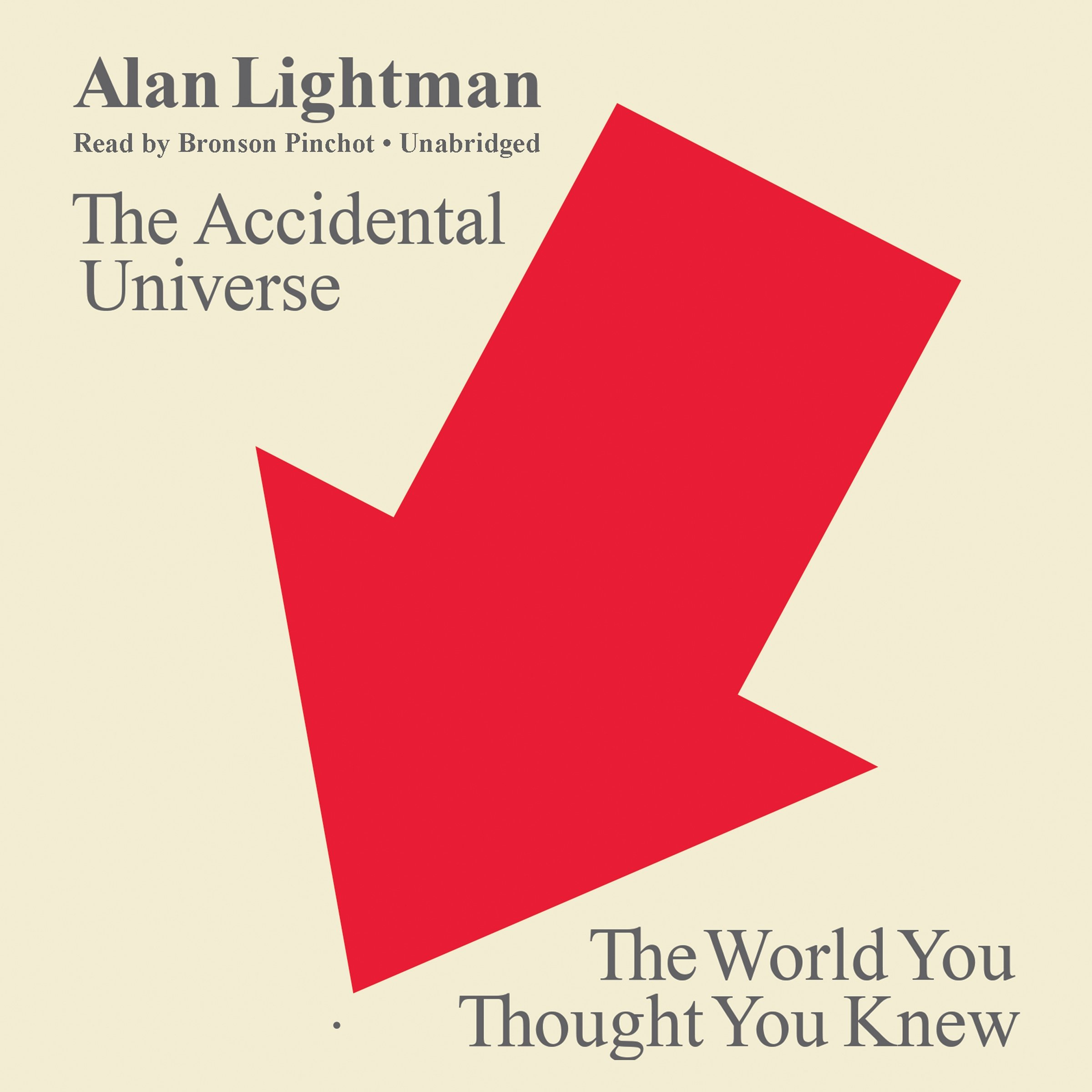 The Accidental Universe - The World You Thought You Knew - Alan Lightman