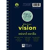 Strathmore 662-57 Vision Mixed Media Pad, 7