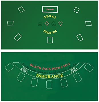 10 person poker table top