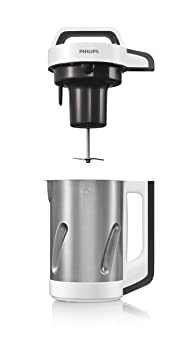 philips hr2201 80 blender blender chauffant inox gris 990 w 1 2 l cuisine maison m126. Black Bedroom Furniture Sets. Home Design Ideas