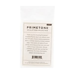 Dunlop Primetone Jazz III 1.4mm Sculpted Plectra (Grip) - 3 Pack (Tamaño: 1.4mm | Grip)
