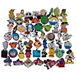Disney Pin Trading Lot of 50 Assorted Pins - No Doubles - Tradable - Brand NEW