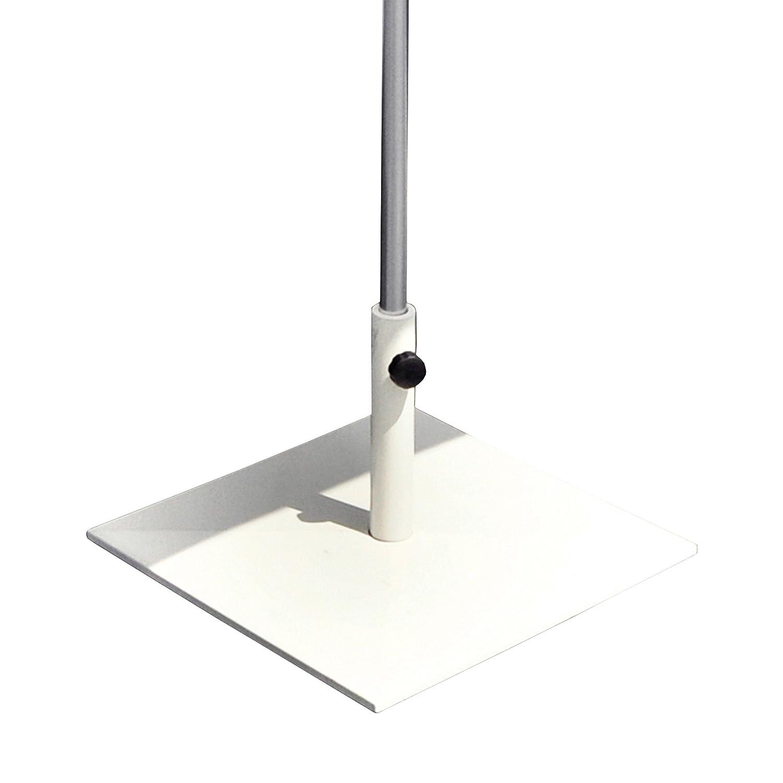 Shade Schirmständer quadratisch für Stockmaß ø 3,8 bis 4,8 cm