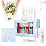 9 Pcs Mini Perfume Gift Set for Women, LuckyFine 9 Scent City Fragrances Kit Spray Perfume Gift for Girls (Color: 1)