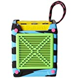 Skullcandy Shrapnel Water-resistant Drop-proof Bluetooth Portable Speaker with On-Board Mic, Locals Only