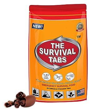 Survival food ration tabs